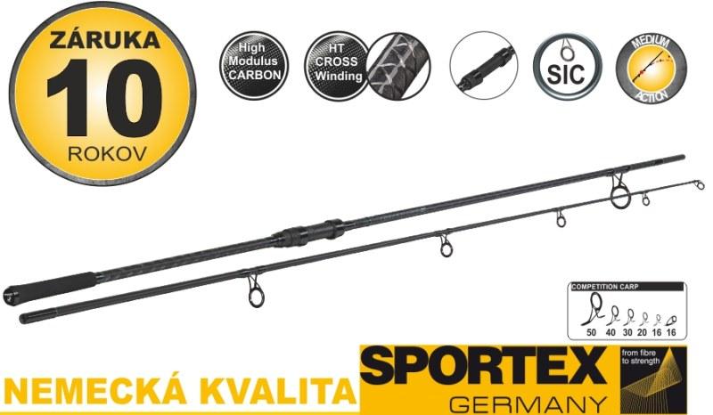 Kaprové pruty SPORTEX Competition CS-4 Distance 396cm 3-5oz