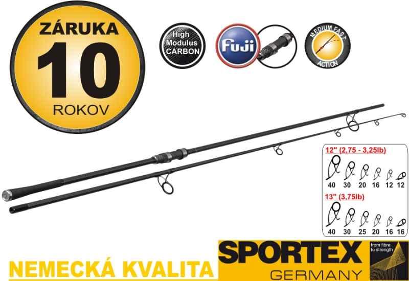 """SPORTEX-D.N.A Carp 12"""" 2,75lbs.,366cm,2,75lbs.g"""