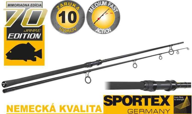 Kaprové pruty Sportex Advancer Carp 2-díl 366cm/2,75lbs