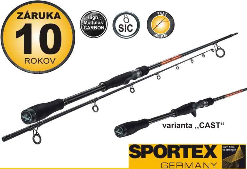 SPORTEX - Black Pearl - BR 2102 Cast-210cm, 40g