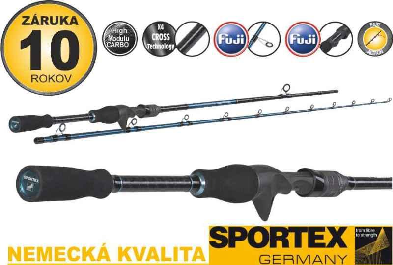 Přívlačové pruty Sportex Bassista Vertical 195cm / 40g
