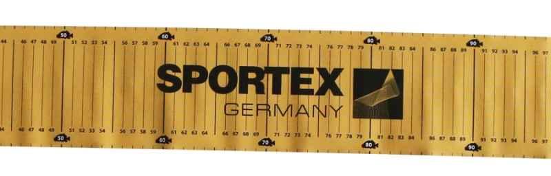 SPORTEX metr podložka na měření úlovku 140cm