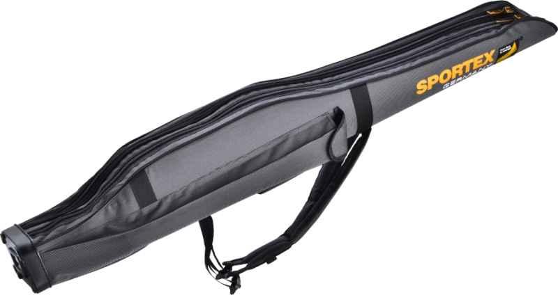 SPORTEX pouzdro dvoukomorové II - šedé 165cm