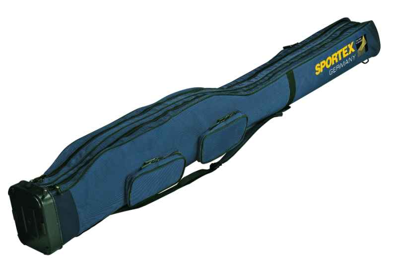 Sportex Pouzdro na pruty 2komorové na 4pruty 150cm