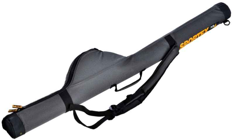 SPORTEX pouzdro tubus 1 prut s navijákem VIII šedé 165cm