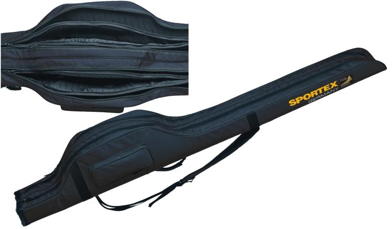 Sportex pouzdro 2komorové 2 + 2pruty IX 198cm