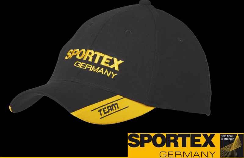SPORTEX - Kšiltovka žlutá
