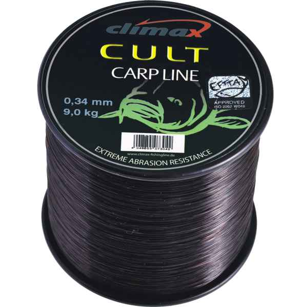 Silon Climax - CULT Carpline 600m 0,25 - Black