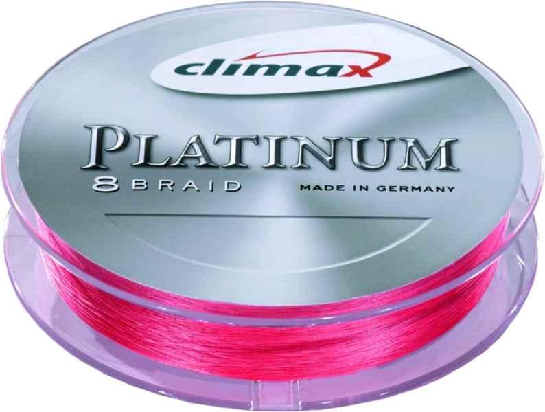 CLIMAX platinum 8 braid šňůra červená