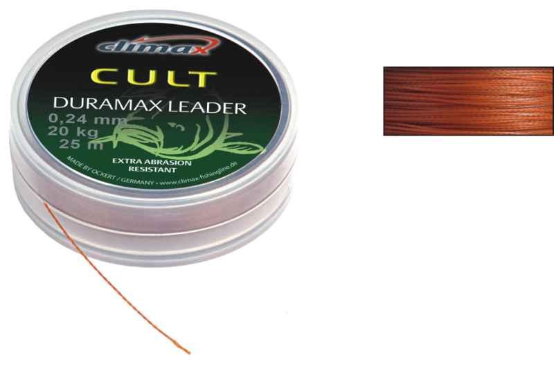 CLIMAX CULT Duramax šnůra 25m,0,14mm/10kg