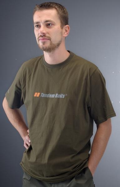Tričko Tandem Baits krátky rukáv vel.XL