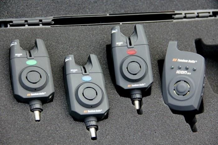 Signalizátory záberu Icon SX set 3+1