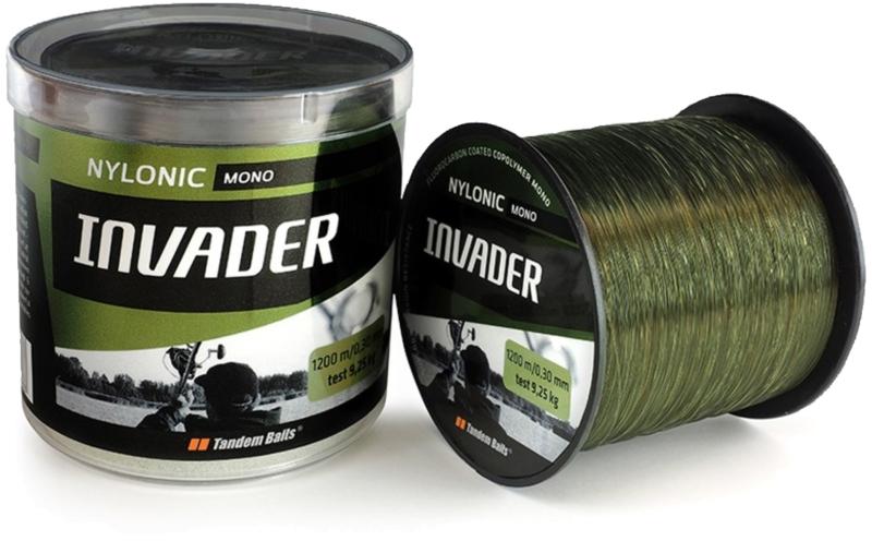 Silon Invader Ultra Mono 1200 m 0,28mm Translucent olive