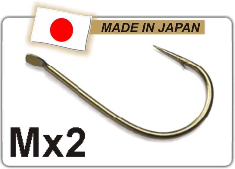 Profi Match rybářské háčky M X2 - TB vel. 12 - 10ks