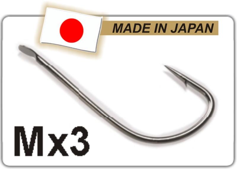 Profi Match rybářské háčky M X3 - TB vel. 16 - 10ks