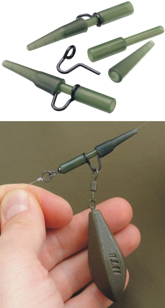 TANDEM Baits FC Lead clip heavy duty / 5 Weed