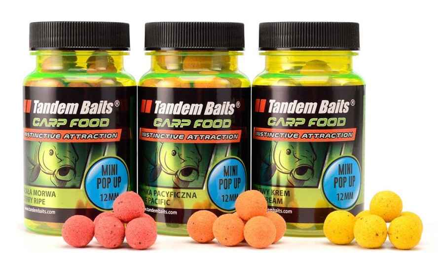 Carp Food Perfection Mini Pop-Up boilies 12mm/30g