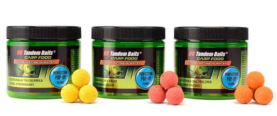 Carp Food Perfection Pop-Up boilies 16mm/70g Tutti Frutti