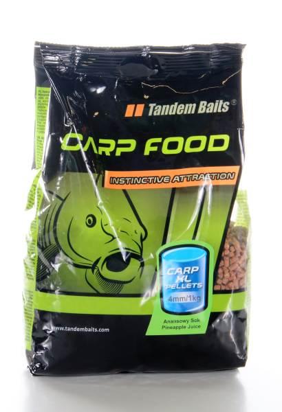 Carp Food Carp XL kaprové pelety 4mm 1 kg 199 17370 - Carp Food Carp XL kaprové pelety 4mm 1 kg