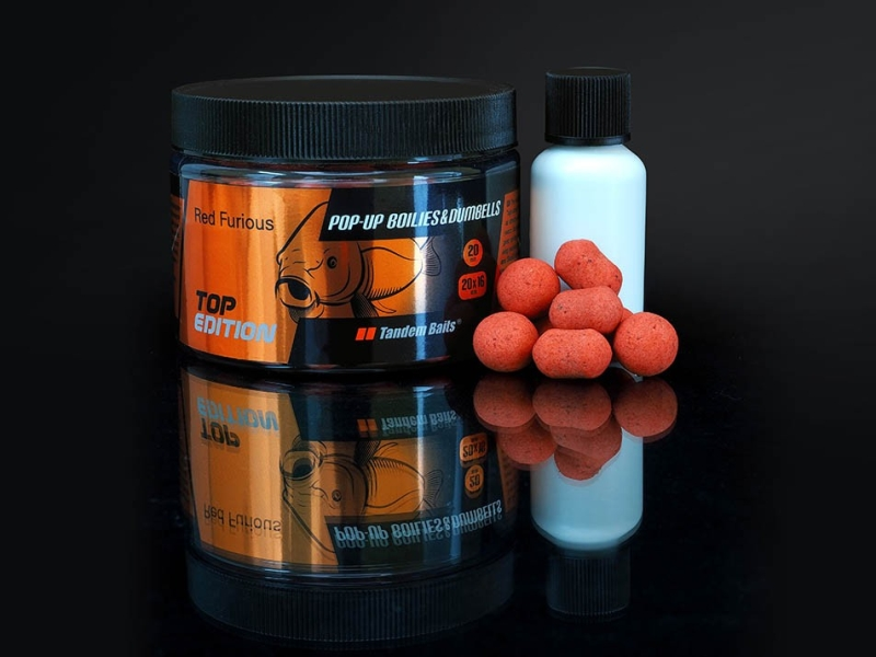 Tandem Baits Top Edition Pop Up boilies dumbells 100g 199 21220 - Tandem Baits Top Edition Pop Up boilies dumbells 100g