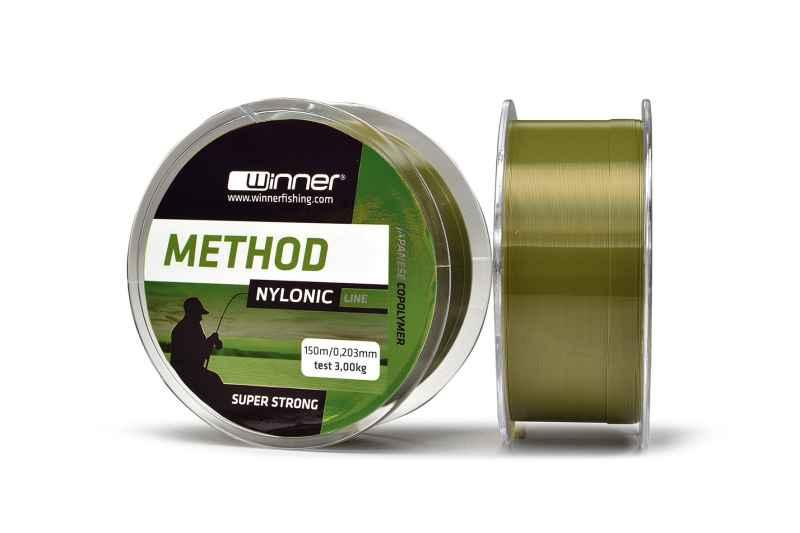 Silon Nylonic Method line 150m - zelený 0,203mm