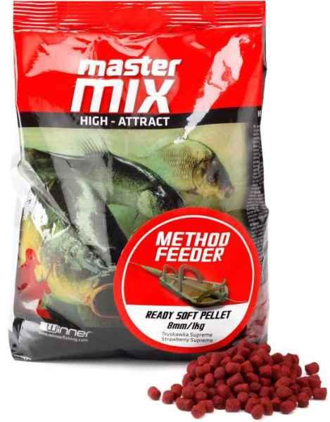 Method Feeder Ready Soft Pellet 8mm / 1kg, měkké pelety Vanilla Cream