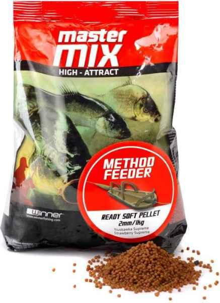 Method Feeder Ready Soft Pellet 2mm / 1kg, měkké pelety Vanilla Cream