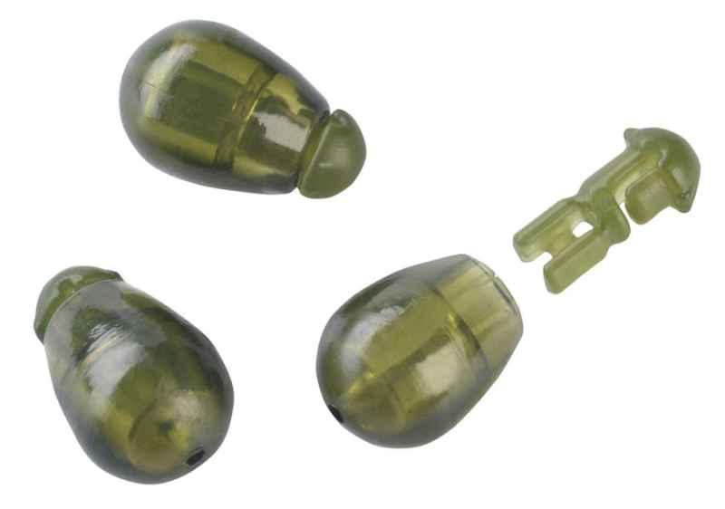 Konektor Method Feeder Quick beads 10ks -zelený L