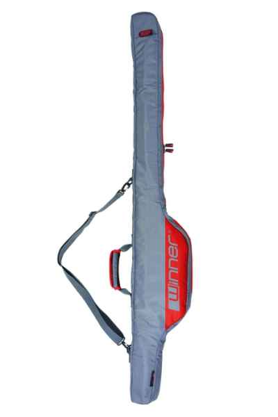 Pouzdro na prut s navijákem Winner - dvoukomorové 145cm