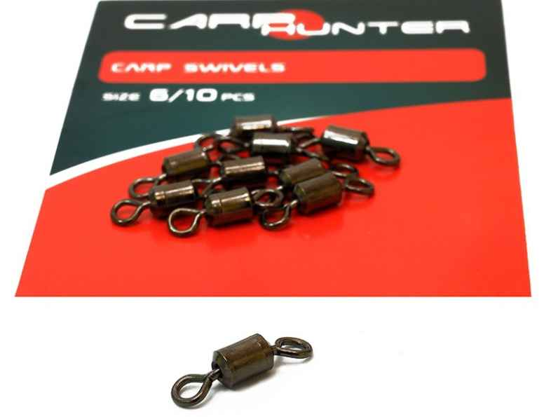 Obratlík Carp Hunter swivel 10ks č.6