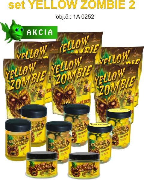 Atraktivní obchodnický set boilies Yellow Zombie
