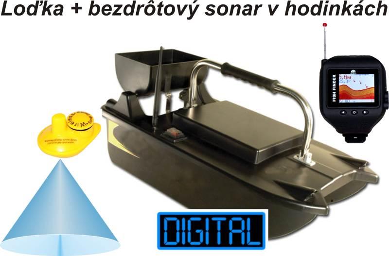 Akce Zavážecí loďka a bezdrátový sonar v hodinkách