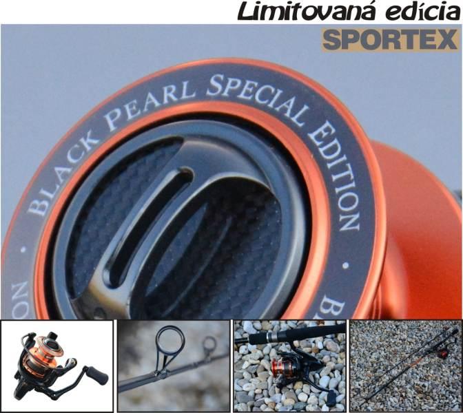SPORTEX naviják 8ložisek +Sportex Black Pearl prut