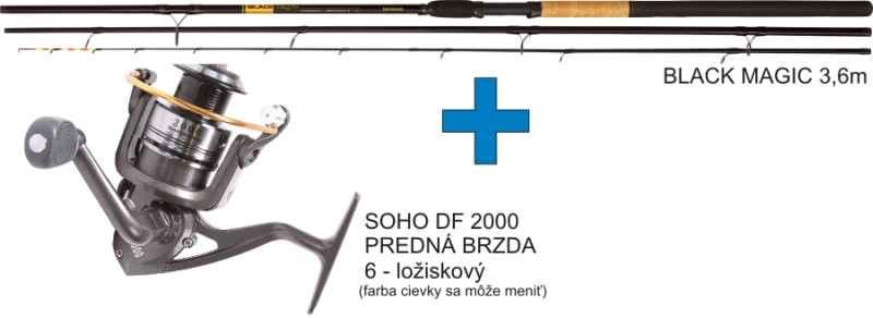 Akce Method Feeder - rybářský prut s navijákem