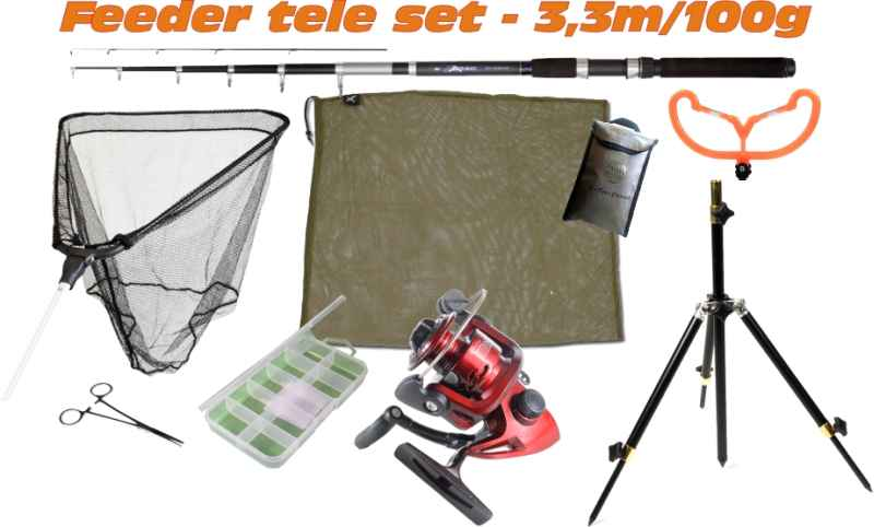 Feeder set SPORTS SCOUT8 - 3,3m / 100g