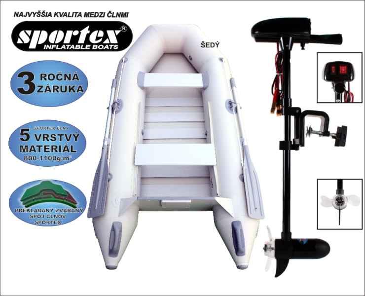 SPORTEX akce Shelf 290 zelený + Engine 18lbs