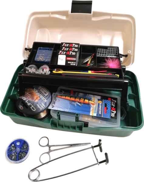 Rybářský kufřík + MAXI II výbava pro každého