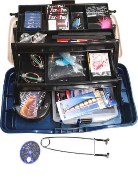 Rybářský kufřík + MAXI výbava III