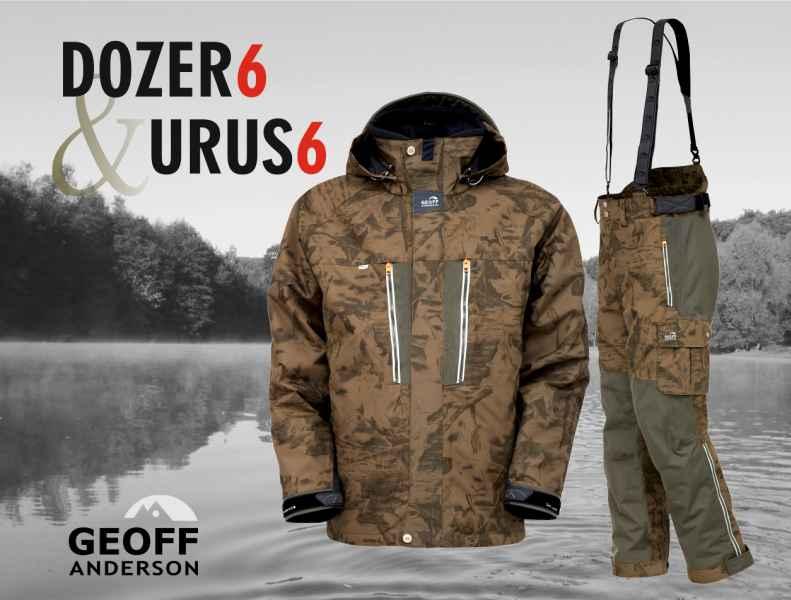 AKCE Geoff Anderson - DOZER 6 + Urus 6 maskáč vel.XL