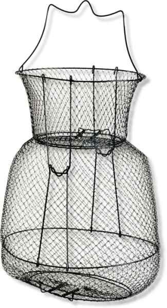 Drátěný vezírek Ovál.průměr 35, výška 40cm,10x10mm