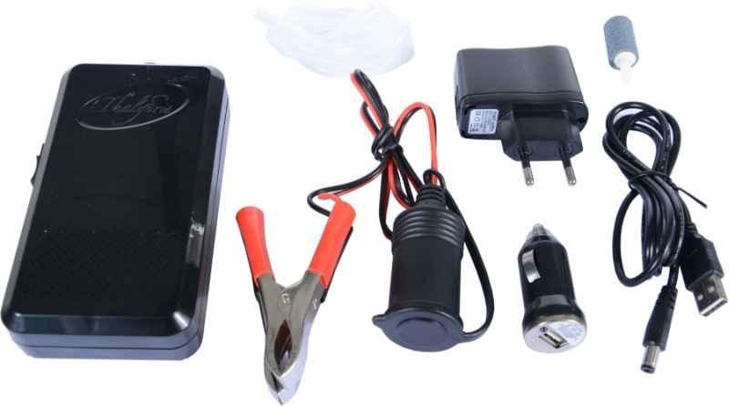 SET 6ks: Vzduchovací motorek AA Bat., USB, adapter, 230V, kabel, M70