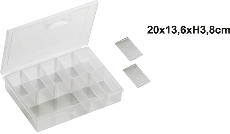 Krabička na nástrahy 20x13,6x3,8cm
