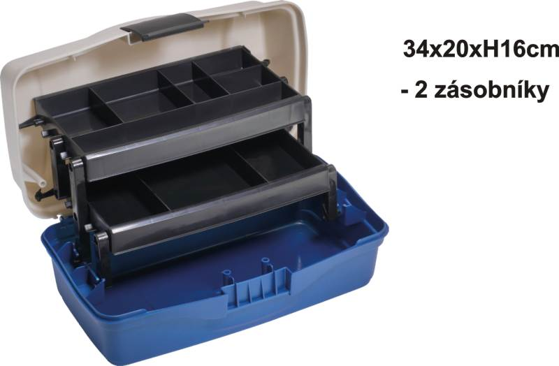 Kufřík dvoupatrový 34x20x16cm