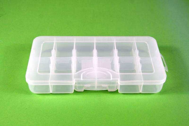Krabička 21x11x3, 6 až 12 přihrádek