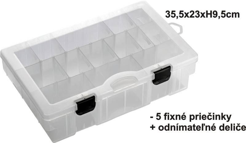 Krabička-BOX 35,5x23x9,5cm,5pev.+var.př.