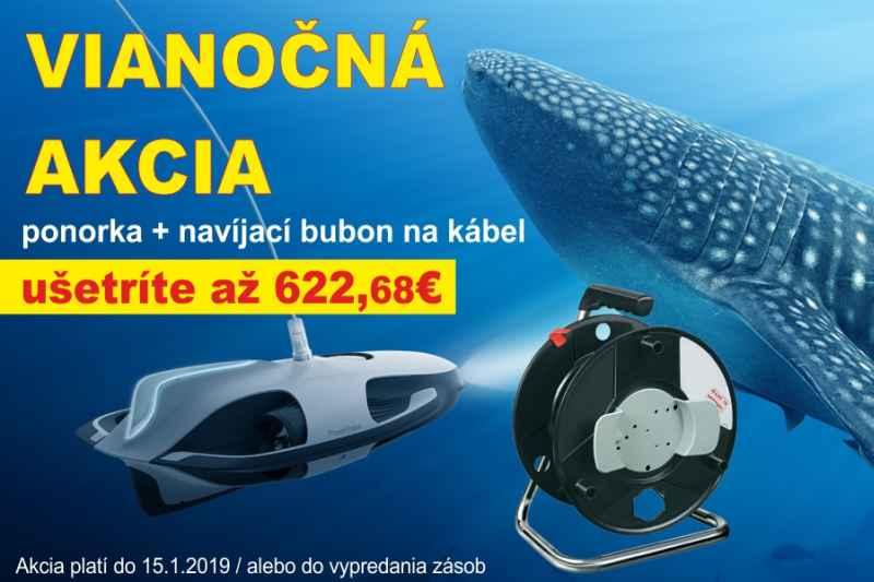 Akce Ponorka Power Ray s kamerou 4K
