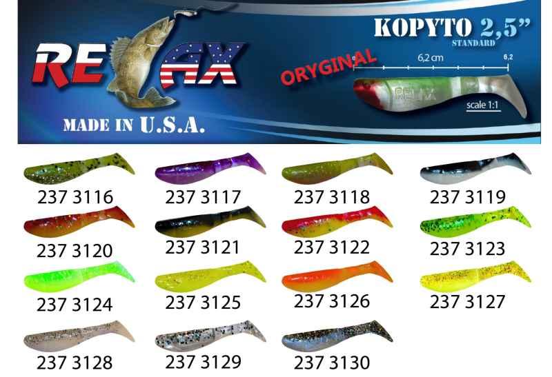 RELAX kopyto RK 2,5 (6,2cm) cena 1ks/bal10ks 3116