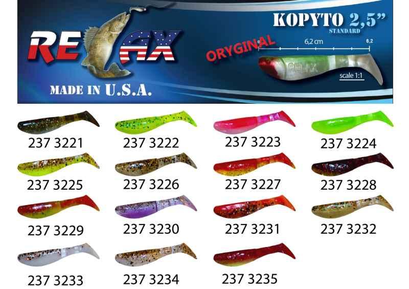 RELAX kopyto RK 2,5 (6,2cm) cena 1ks/bal10ks 3221