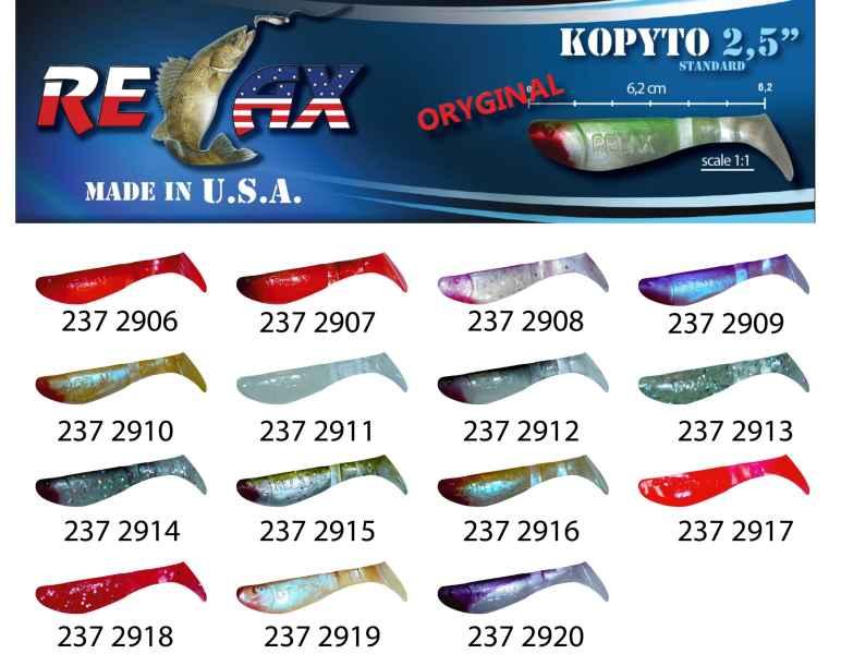RELAX kopyto RK 2,5 (6,2cm) cena 1ks/bal10ks 2909