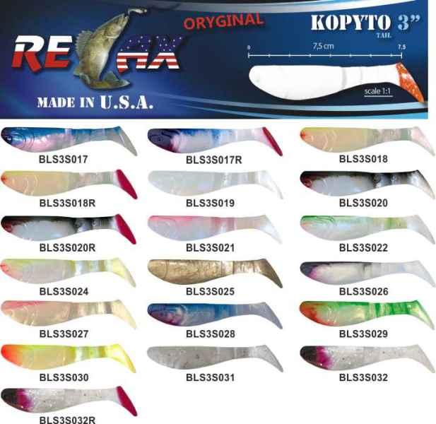 RELAX kopyto RK3-7,5cm 10ks v bal. barva 0016